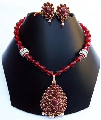 Shalini jewlles Silk Dori Jewel Set