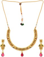 Golden Peacock Alloy Jewel Set best price on Flipkart @ Rs. 1549