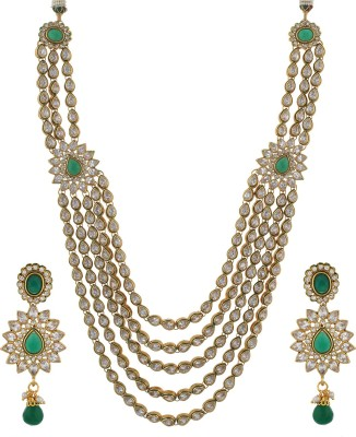 Chaahat Fashion Jewellery Alloy Jewel Set(Multicolor)