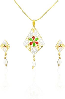 Sia Art Jewellery Alloy Jewel Set