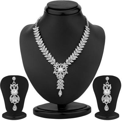 Sukkhi Zinc Jewel Set(Silver)