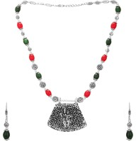Aarvi Collections Brass Jewel Set(Multicolor) best price on Flipkart @ Rs. 599