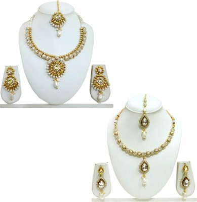 CHETAN ARTS JEWELLERY Alloy Jewel Set