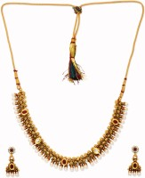 Golden Peacock Alloy Jewel Set best price on Flipkart @ Rs. 1499