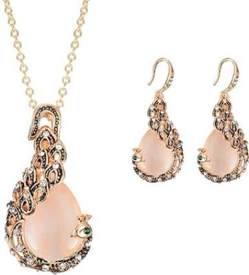 FreshMe Fashion Jewellery Zinc Jewel Set(Multicolor)
