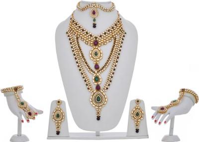 Lucky Jewellery Alloy Jewel Set(Purple)
