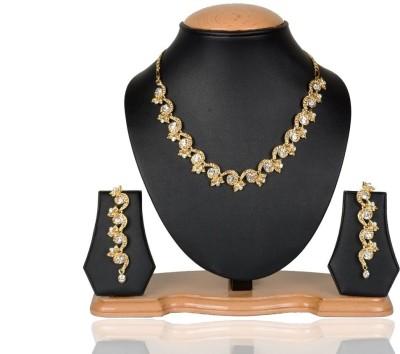 Rashi Jewellery Alloy Jewel Set(Gold)
