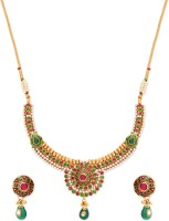 Golden Peacock Alloy Jewel Set best price on Flipkart @ Rs. 2049