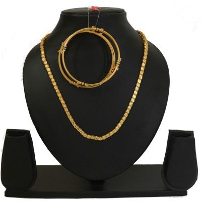 udhayam Copper Jewel Set