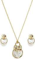 Golden Peacock Alloy Jewel Set(Gold) best price on Flipkart @ Rs. 1499