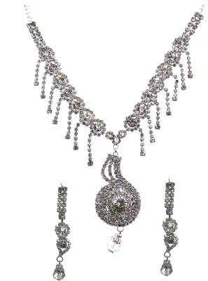 Modish Look Alloy Jewel Set