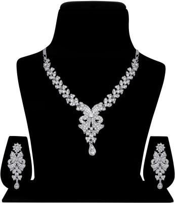 Atasi International Alloy Jewel Set(White)