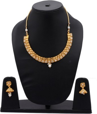Alyssum Designs Brass Jewel Set