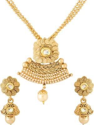 Voylla Alloy Jewel Set(Gold) at flipkart