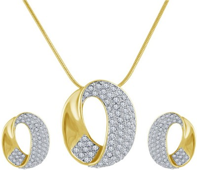 Shriya Alloy Jewel Set(Gold) at flipkart