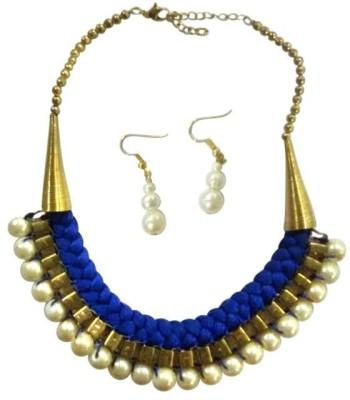 Deco Junction Brass Jewel Set