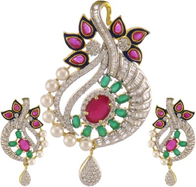 Artificial Jewellery Com Alloy Jewel Set