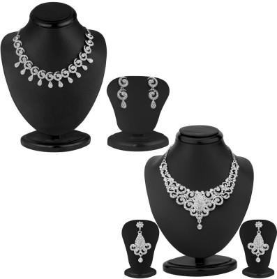 Sukkhi Zinc Jewel Set(White)