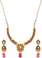 Golden Peacock Alloy Jewel Set best price on Flipkart @ Rs. 2399
