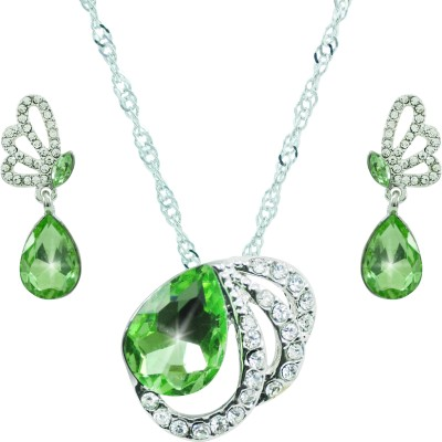 Diovanni Crystal, Alloy Jewel Set