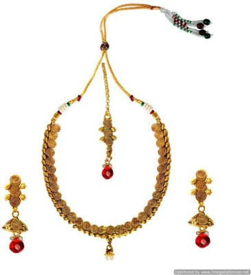 Being Women Copper Jewel Set(Multicolor) at flipkart