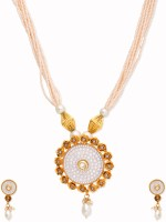 Golden Peacock Alloy Jewel Set best price on Flipkart @ Rs. 1699