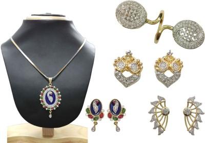 GJ Creations Brass Jewel Set