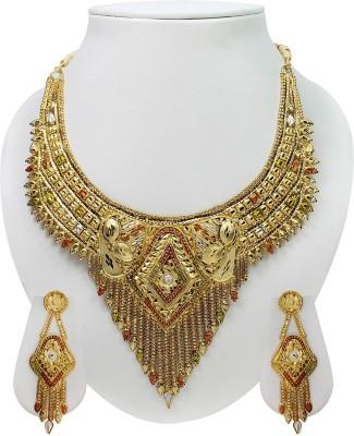 Sarita Copper Jewel Set