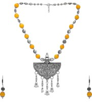Aarvi Collections Brass Jewel Set(Multicolor) best price on Flipkart @ Rs. 899