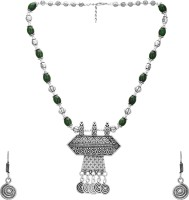 Aarvi Collections Brass Jewel Set(Multicolor) best price on Flipkart @ Rs. 999