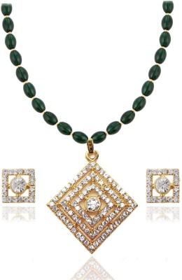 Bling N Beads Glass Jewel Set