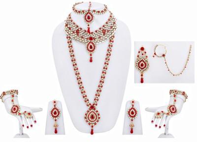 Lucky Jewellery Alloy Jewel Set(Red)