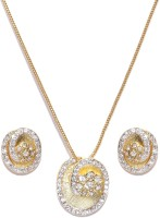 Golden Peacock Alloy Jewel Set best price on Flipkart @ Rs. 549