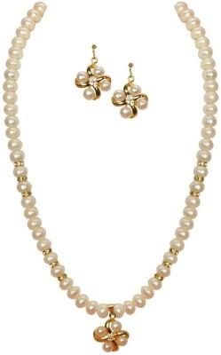 SJ Pearls Alloy Jewel Set
