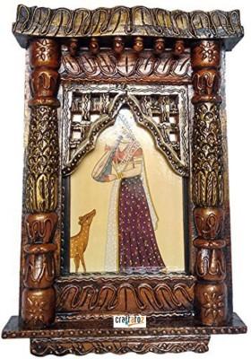 Craftatoz Wooden Jharokha