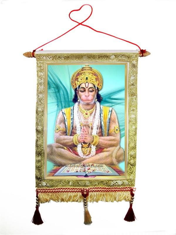Huppme Polyester, Wooden Jharokha(35 cm x 25 cm)