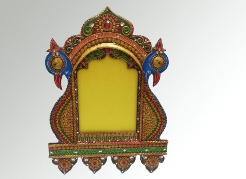 Kalavidhi Wooden Jharokha(52 cm x 70 cm Handcrafted)