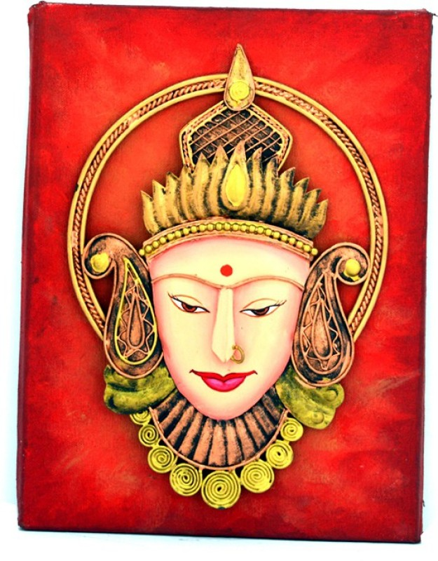 Sabras Industries Devi Iron Jharokha(22 cm x 30 cm Handcrafted)