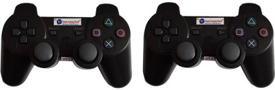 Ultimate Gaming World SONY PS3 WIRELESS CONTROLLER (COMBO DEAL PACK OF-2)  Joystick(Black, For PS3)