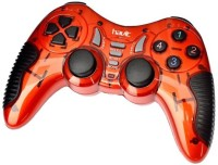 Havit G89W Wireless Gamepad Controller Compatible with PC,PS2,PS3  Joystick(Red, For PS2, PS3, PC)