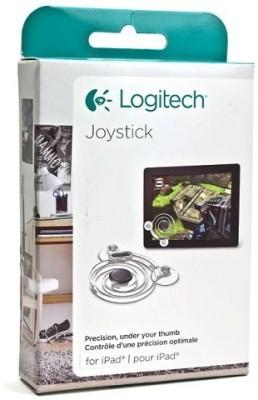 Logitech 943-000033  Joystick(Gray & Clear, For Wii)