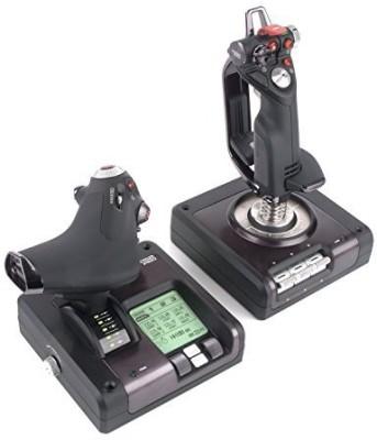 Saitek Saitek X52 Pro Flight System Controller  Joystick(Black, For PC)