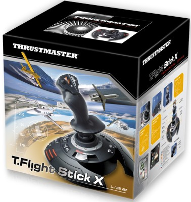 Thrustmaster T.Flight Stick X(For PC, PS3)