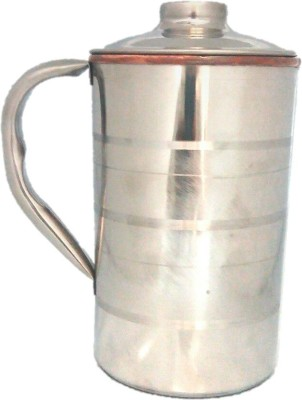 Tarun Traders Copper Steel Diamond 1.75 L Water Jug