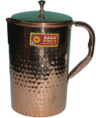 Saga Hammered Design Water Jug