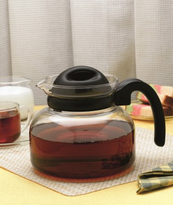 Borosil Carafe Pot With Strainer Kettle Jug(1.25 L)