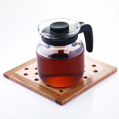 Borosil Carafe With Strainer Kettle Jug(0.65 L)