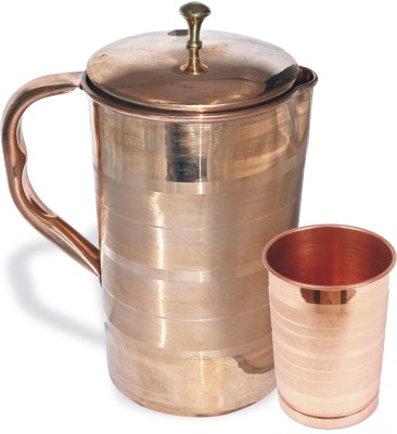 Veda Home & Lifestyle Copper Jug Set 2 L Water Jug Set