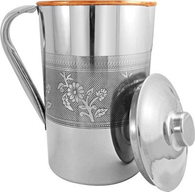 Ankur S.S.Copper Embossed Jug Water Jug