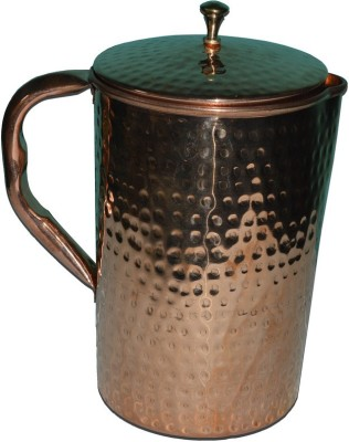 Tera India Hammered Design Water Jug